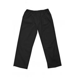 Kalhoty plátěné (černé) v nadměrné velikosti