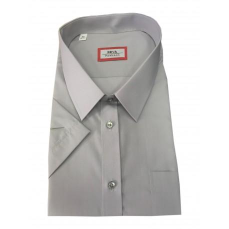 Pánská košile kombinovaná s krátkým rukávem v nadměrné velikosti