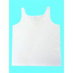Dámská spodní bavlněná košilka (široká ramínka) v nadměrné velikosti