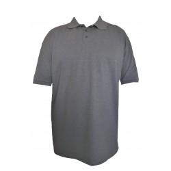 Triko s límečkem jednobarevné v nadměrné velikosti