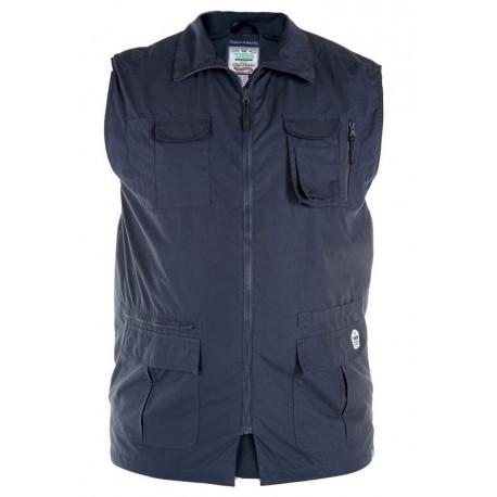 Pánská vesta s kapsami v nadměrné velikosti