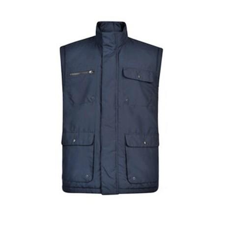 Vesta - lehká bunda bez rukávů v nadměrné velikosti