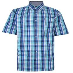 Pánská kostkovaná košile s obvodem 180 - 200 cm v nadměrné velikosti