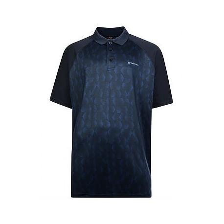 Funkční triko s límečkem v nadměrné velikosti