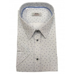 Pánská košile krátký rukáv v nadměrné velikosti