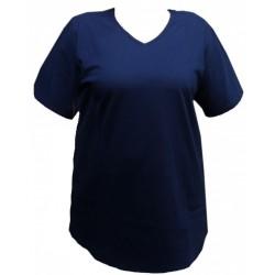 Maxi triko  s kapsami v nadměrné velikosti