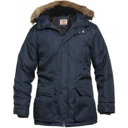 Zimní bunda - parka - v nadměrné velikosti