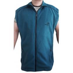 Fleecová vesta bez rukávů - v nadměrné velikosti