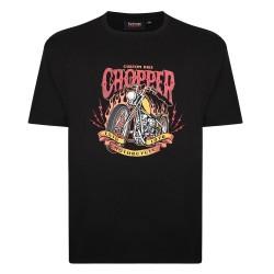 Tričko Chopper v nadměrné velikosti