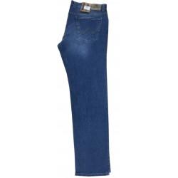 Pánské jeans v modré barvě v nadměrné velikosti