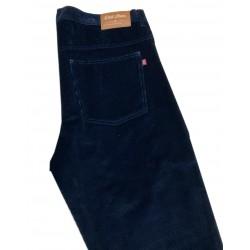 Kalhoty manšestrové v nadměrné velikosti