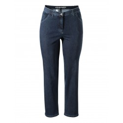 Dámské džínové kalhoty SUPERSTRETCH - širší nohavice - v nadměrné velikosti