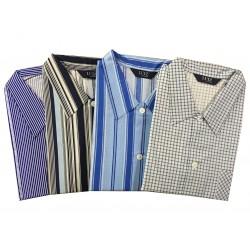 Pyžamo klasické v nadměrné velikosti