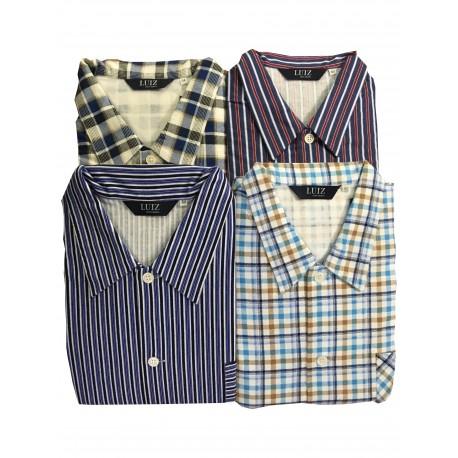 Pyžamo flanelové v nadměrné velikosti