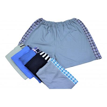 Pánské bavlněné boxerky v nadměrné velikosti