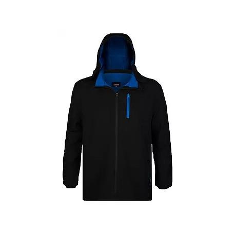 Softshellová bunda v nadměrné velikosti