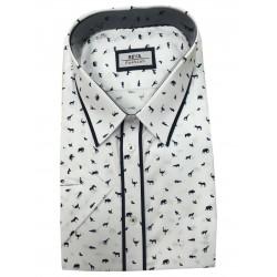 Pánská košile dlouhý rukáv v nadměrné velikosti