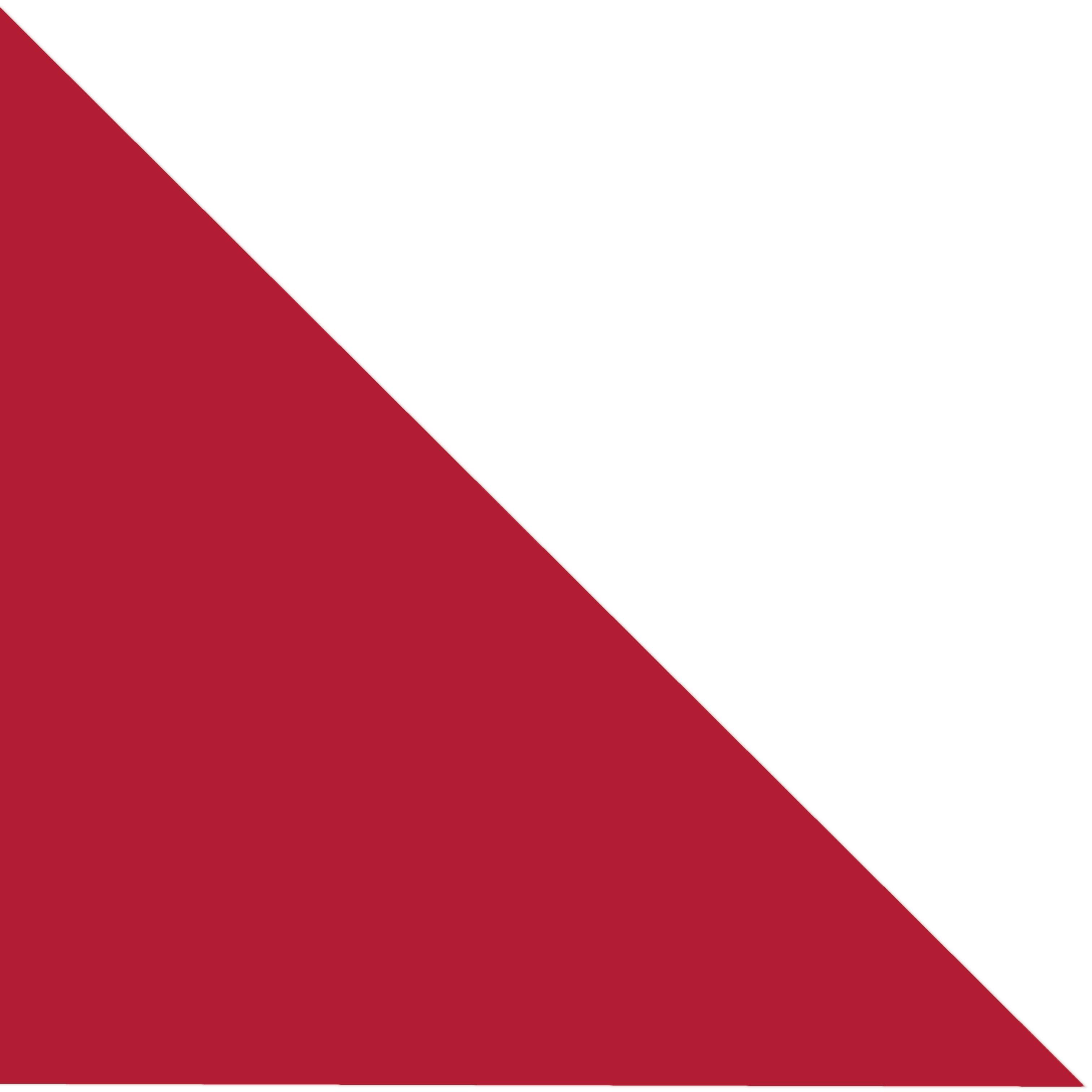 Červené s  bílým proužkem