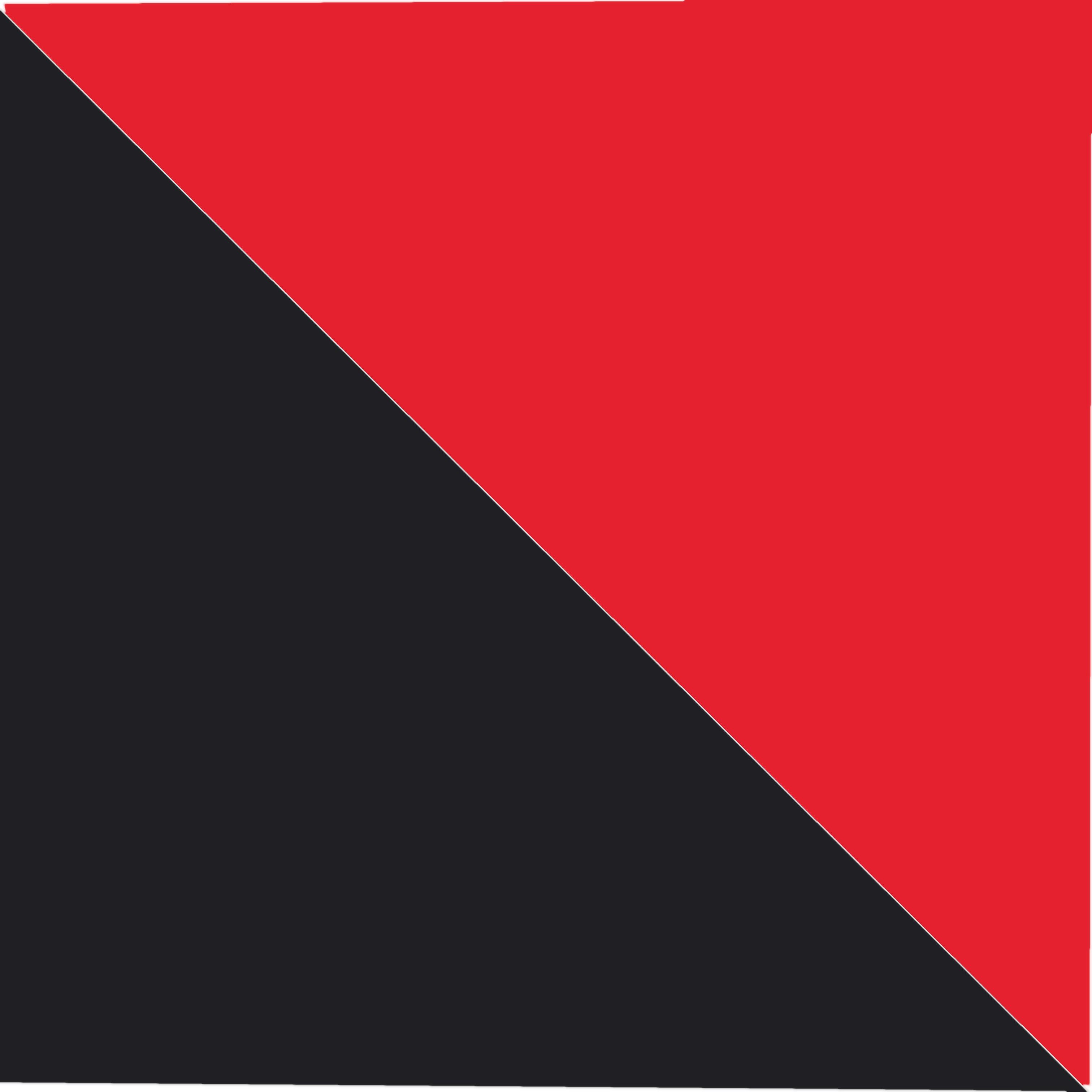 Černé s červeným proužkem