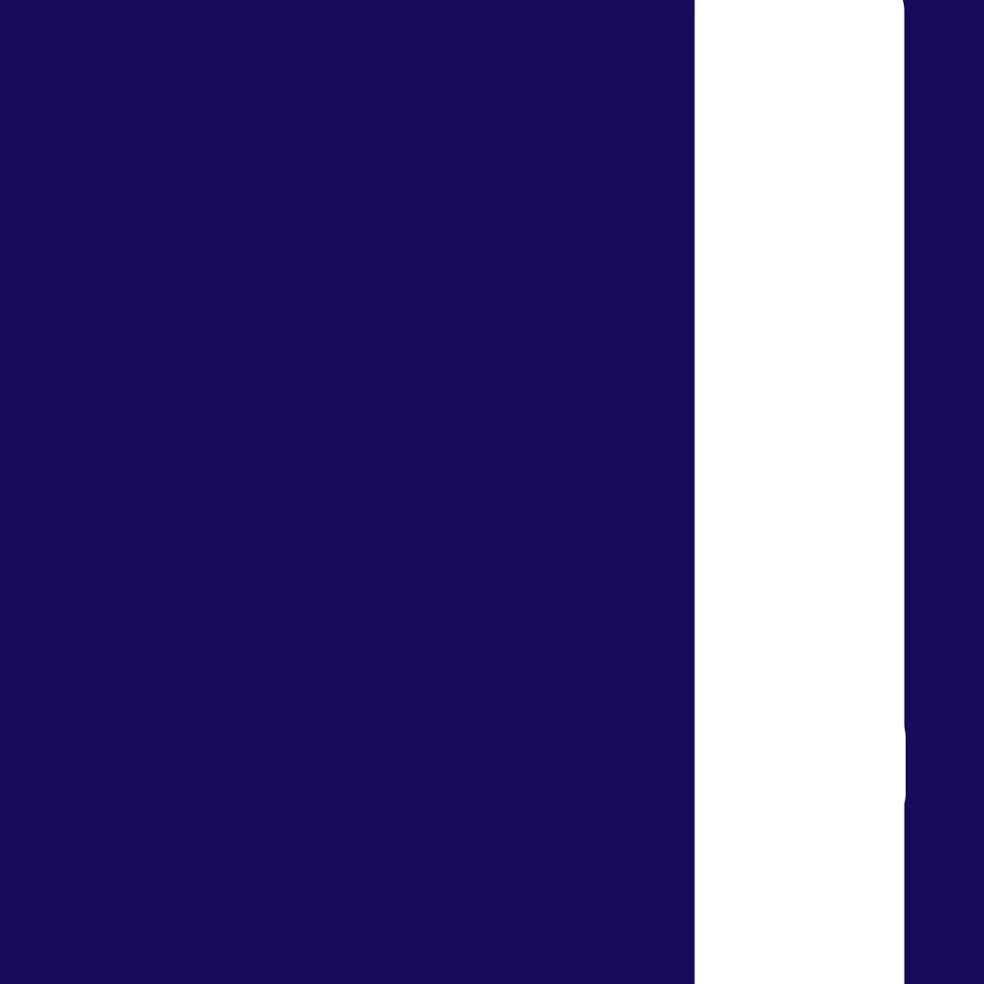 Tmavě modrá-bílá