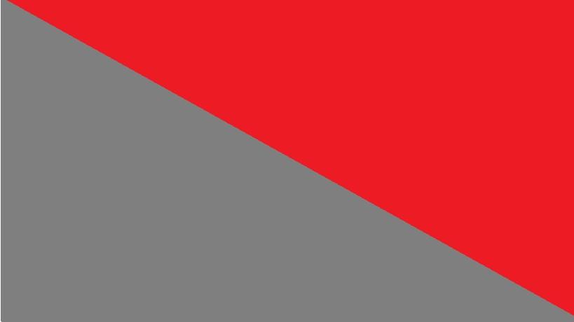 Červená se šedou