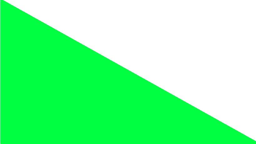 Zelená s bílou