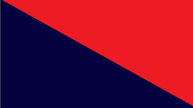 Temně modrá s červenou