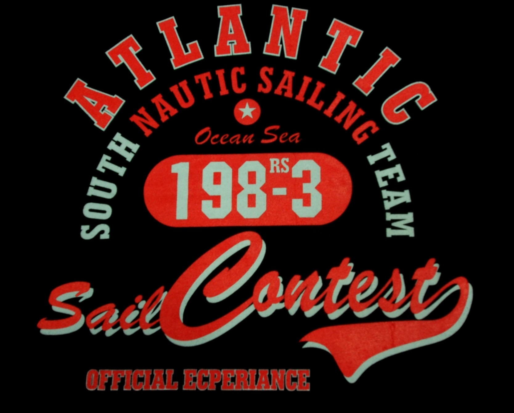 Atlantic - Černá s červenou