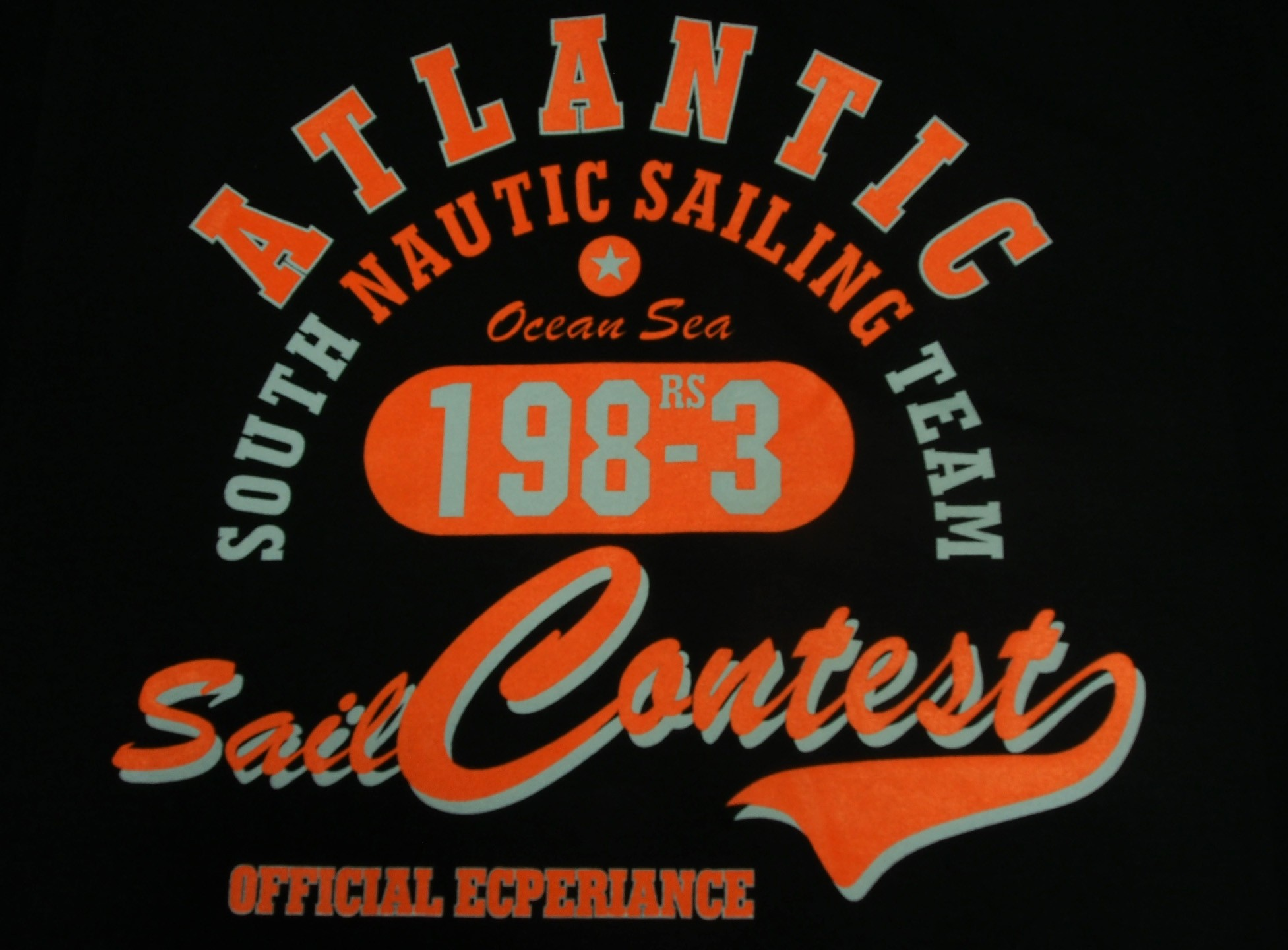 Atlantic - Černá s oranžovou
