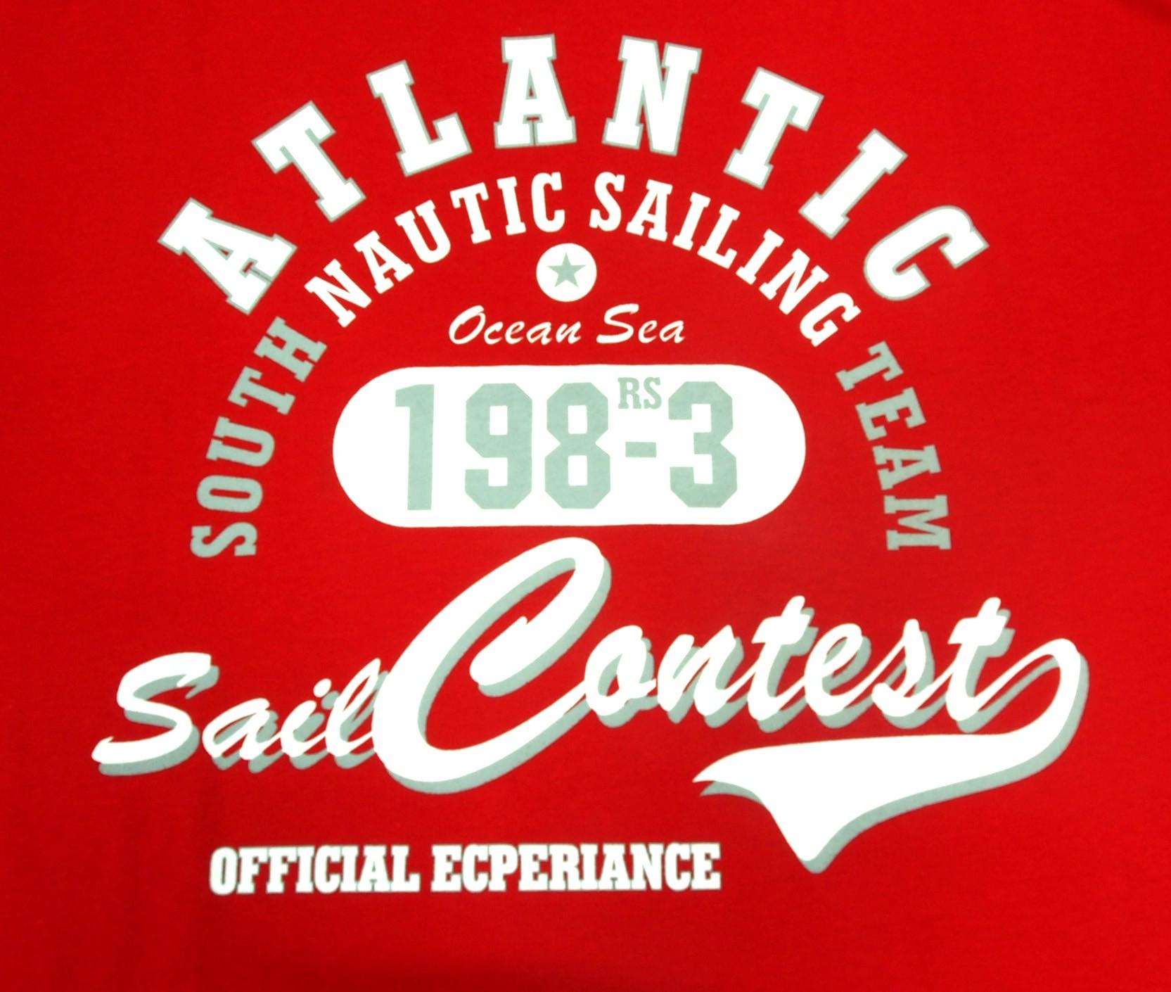 Atlantic - Červená s bílou