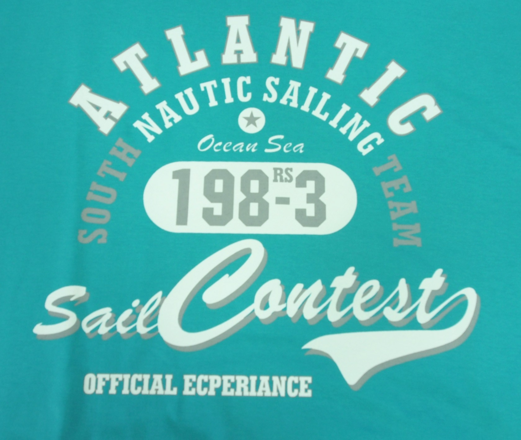 Atlantic - Aquamarine s bílou