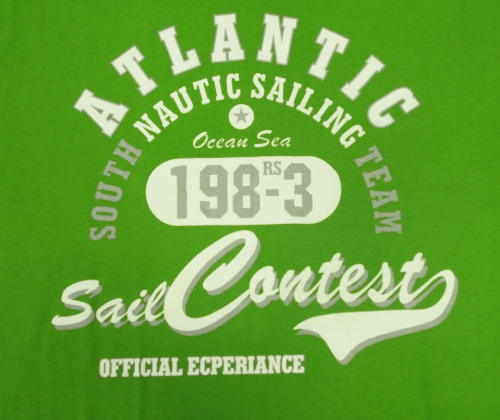 Atlantic - Zelená s bílou