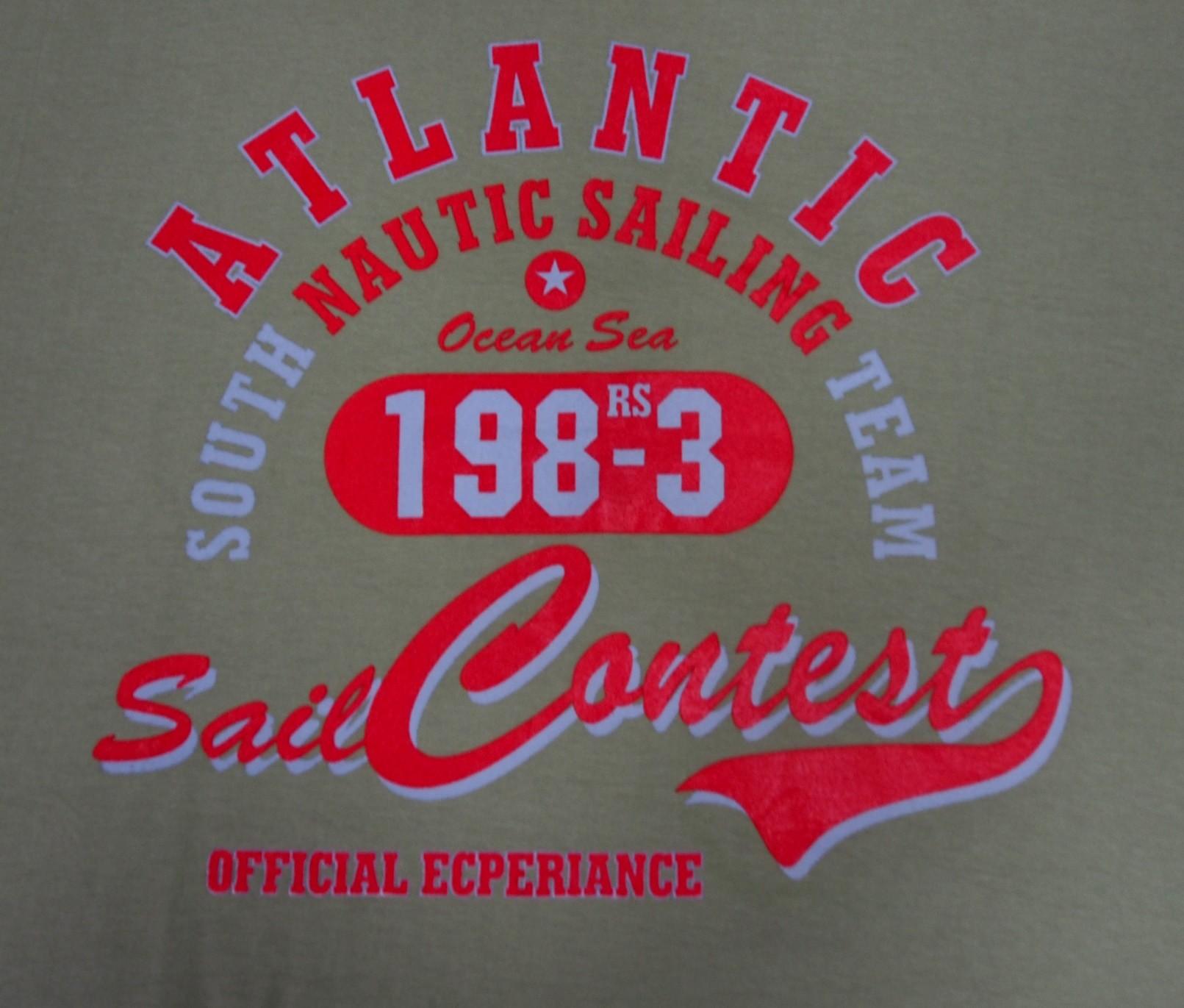 Atlantic - Šedá s červenou
