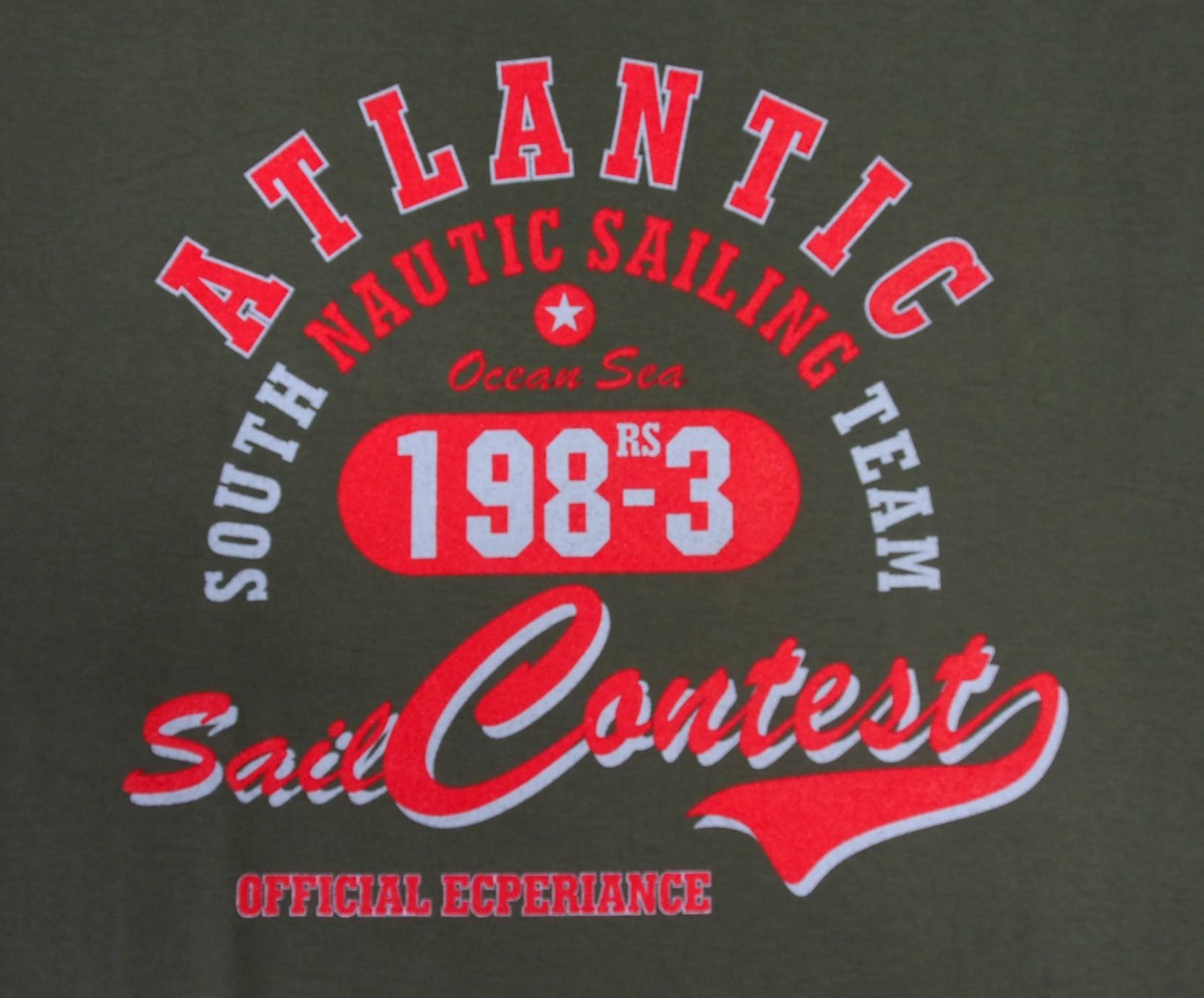 Atlantic - Tmavě šedá s červenou