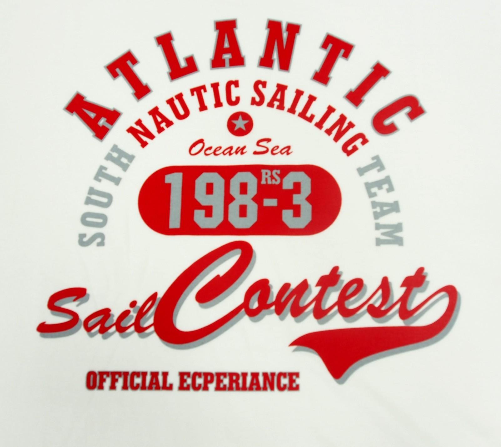 Atlantic - Bílá s červenou