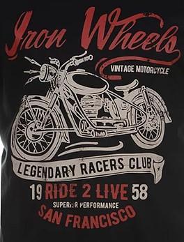 Iron wheels